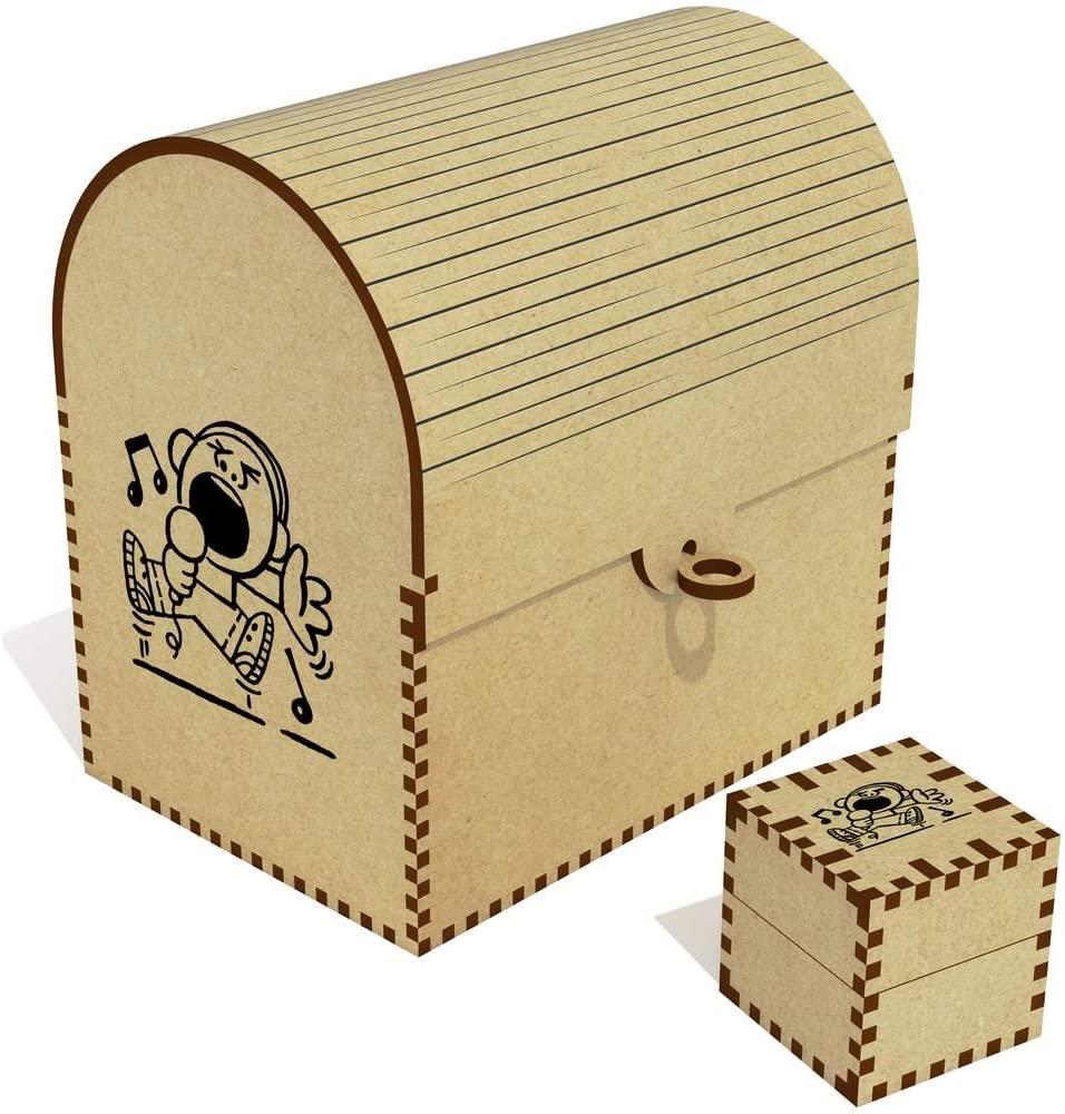 Azeeda 'Singing Boy' Treasure Chest / Jewellery Box (TC00016033)