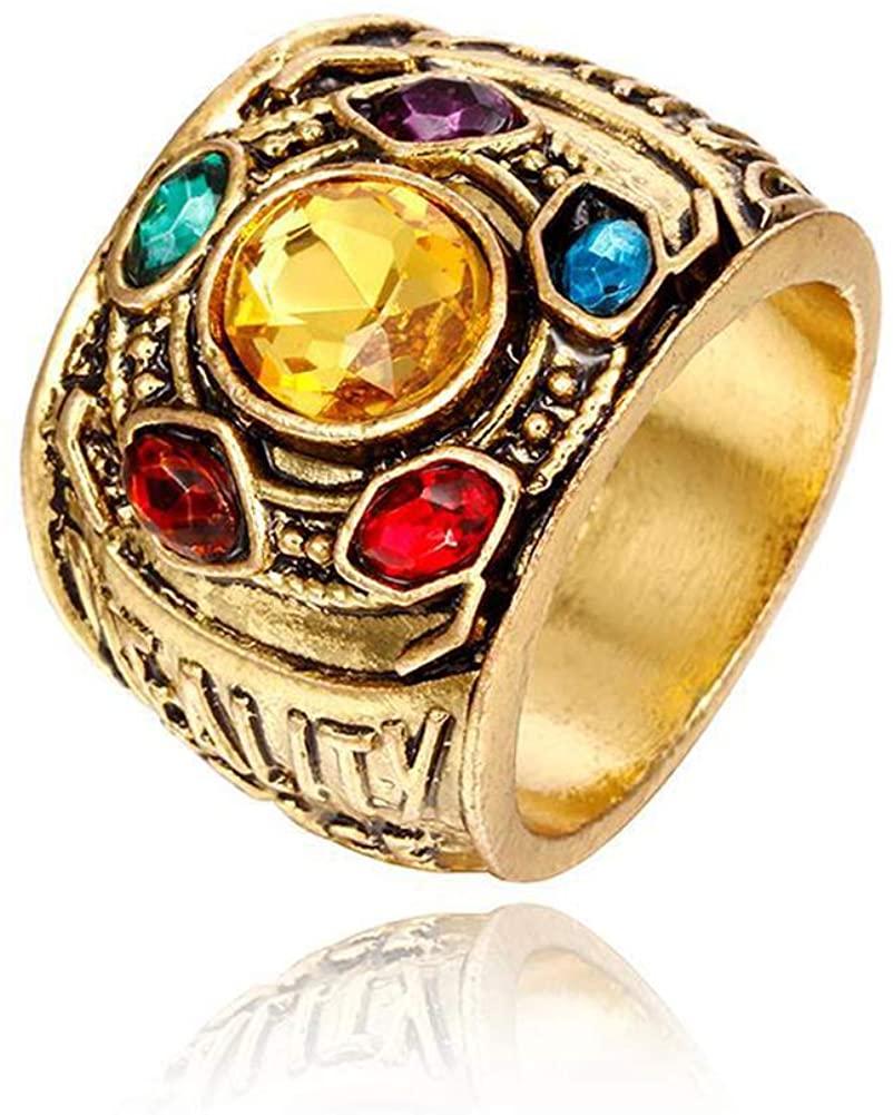 ADKING Infinity War Soul Stone Power Thanos Cosplay Gauntlet Jewelry