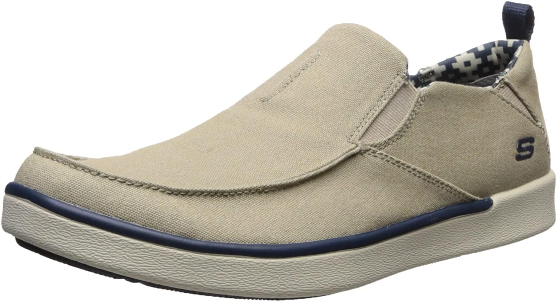 Skechers USA Mens Boyar Lented Slip-on Loafer