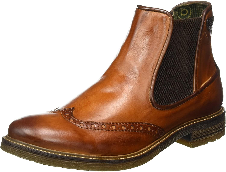 Bugatti Men's Ankle Boots, Brown Cognac 6300, 6.5 UK