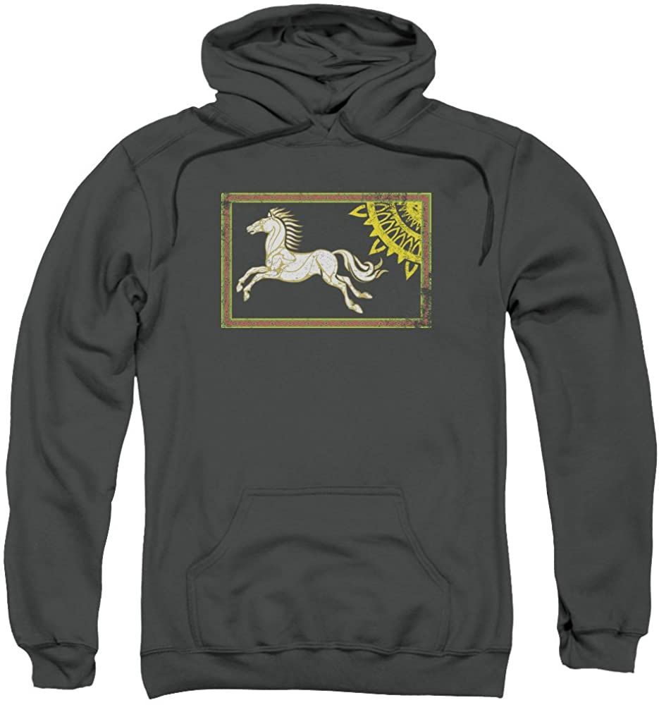 Hoodie: The Lord of the Rings: The Two Towers - Rohan Banner Pullover Hoodie Size S