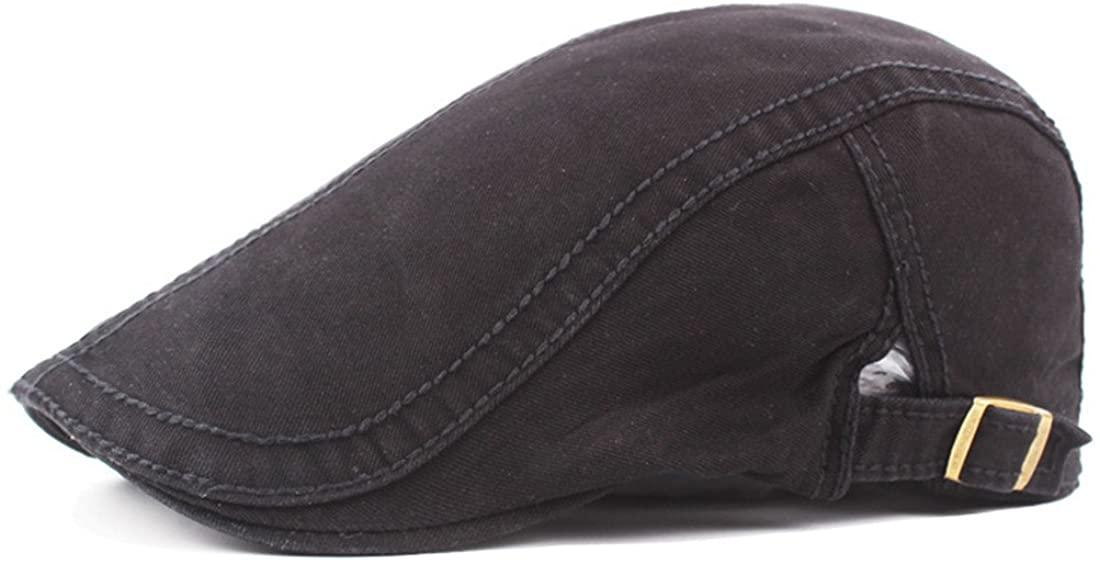 Globalwells Mens Casual Classic Cotton Flat Cap Gatsby Cabbie Newsboy Ivy Irish Hunting Hat
