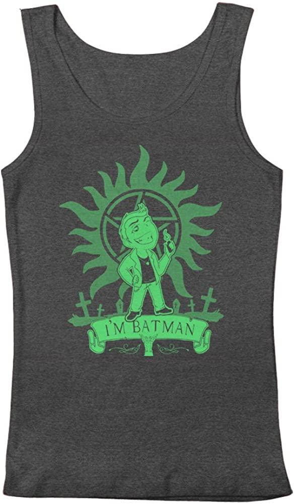 Supernatural Dean Winchester I'm Batman Men's Tank Top