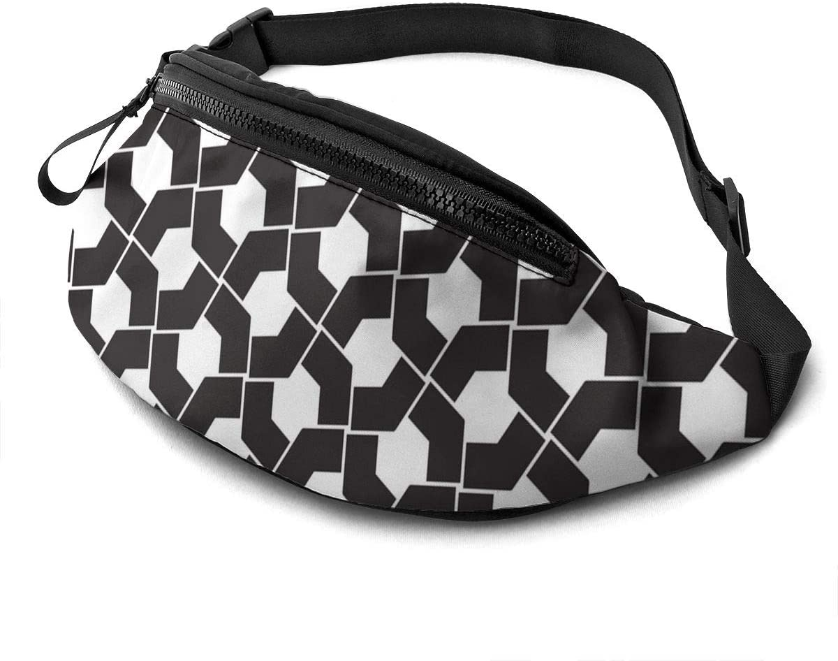 Abstract Geometry Fanny Pack Fashion Waist Bag