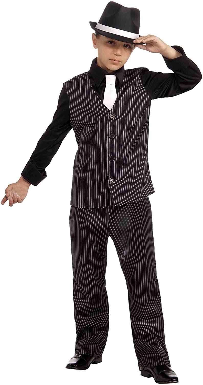 Forum Novelties 20's Lil' Gangster Child Costume