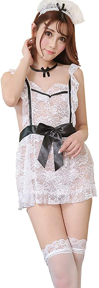 HNGPB Ladies Maid Outfit Cosplay Naughty Costume Party Lingerie Sexy Underwear Cute Dress