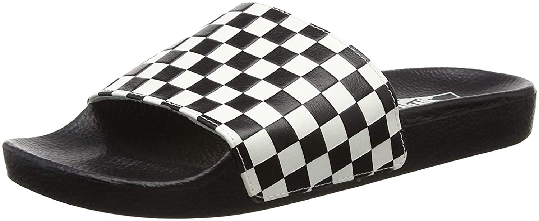 Vans Slide-on Checkerboard Mens Sandals (9 M US, Checkerboard White)