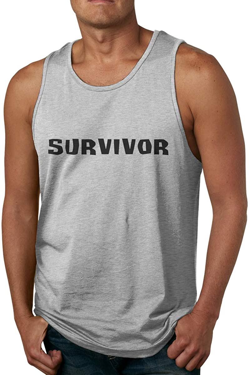 Survivor CBS Tv Television Show Mans Mens Cotton Tank Top Shirt,Worn Outside Or Inside