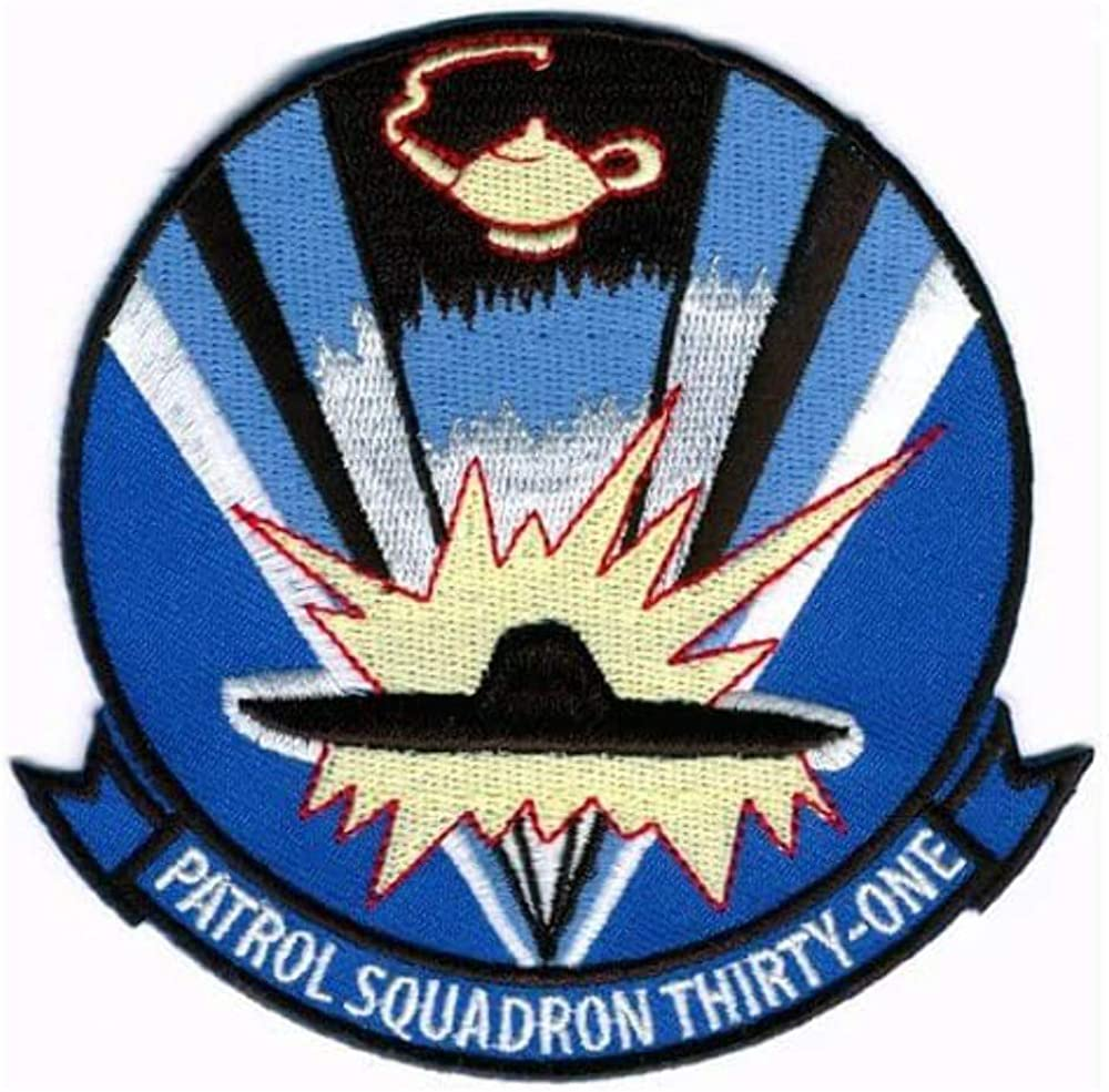 VP-31 Black Lightning Squadron Patch – Sew On