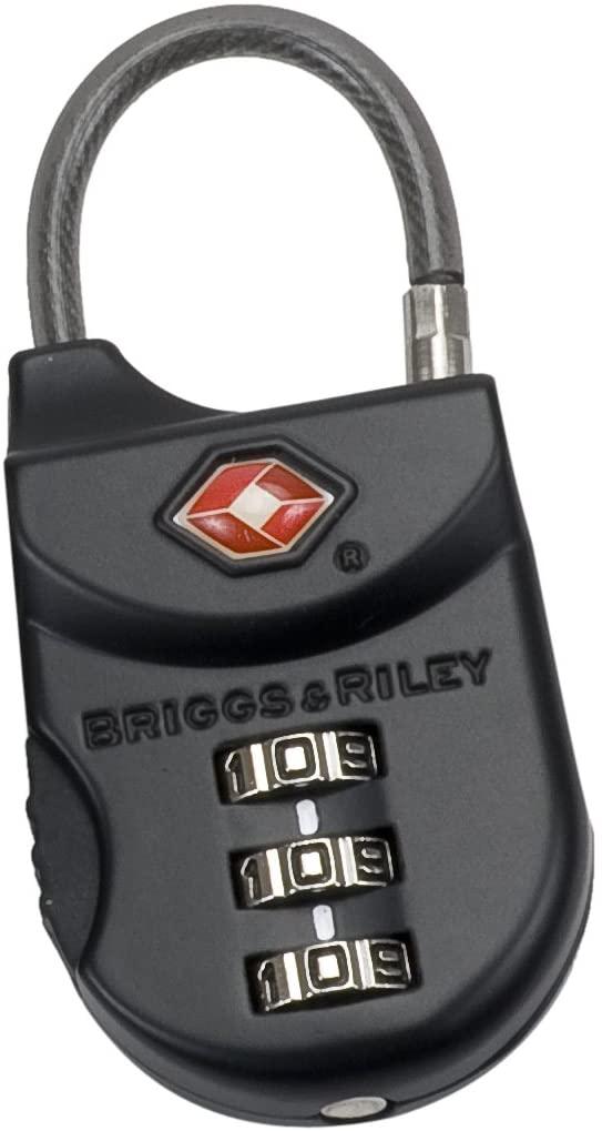 Briggs & Riley TSA Cable Lock, Black, One Size