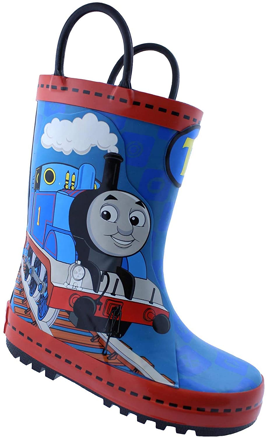 Thomas The Train Toddler Boy's Pull-On Rubber Rain Boots