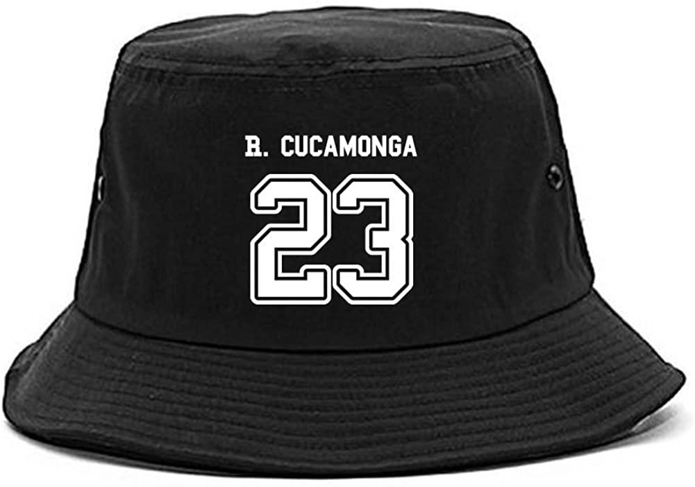 Kings Of NY Sport Style Rancho Cucamonga 23 Team City California Bucket Hat