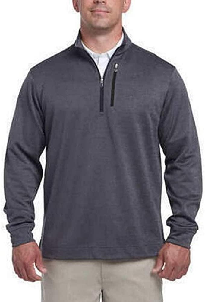 Bollé Men's 1/4 Zip Pullover Jacket (Black, Medium)