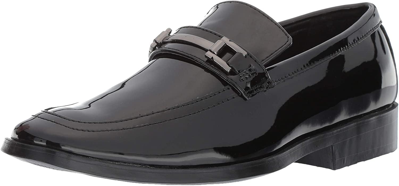 STACY ADAMS Men's Ambassador Tuxedo Slip-on Dress Loafer