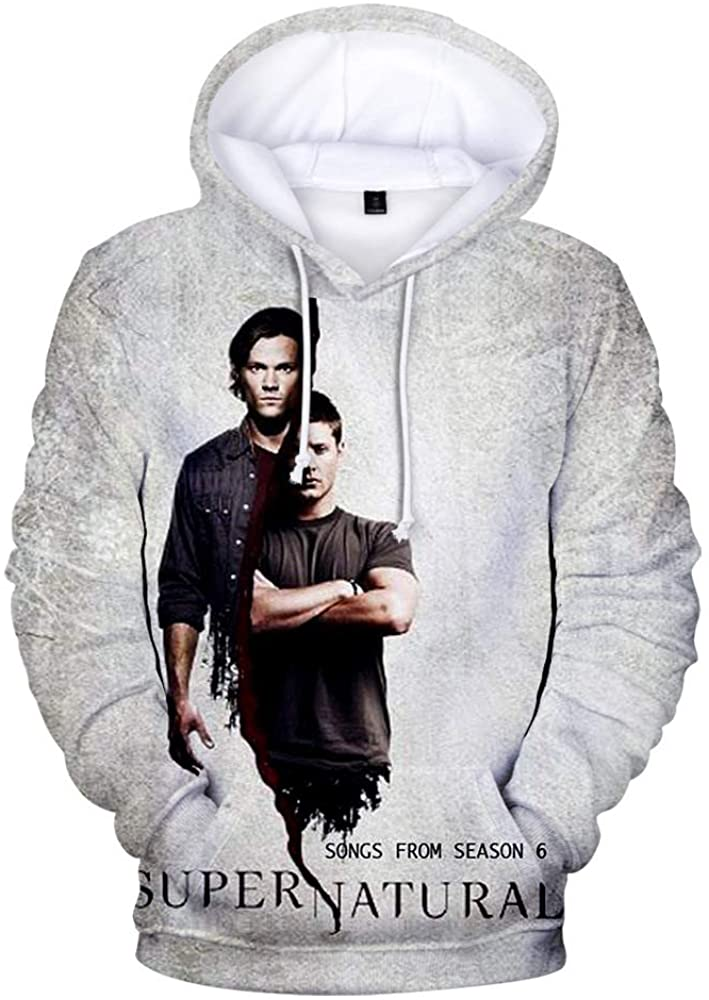 CONNOR WALTERS 15 Years of Supernatural Seasons 3 Woman Fation Sweatshirt Black