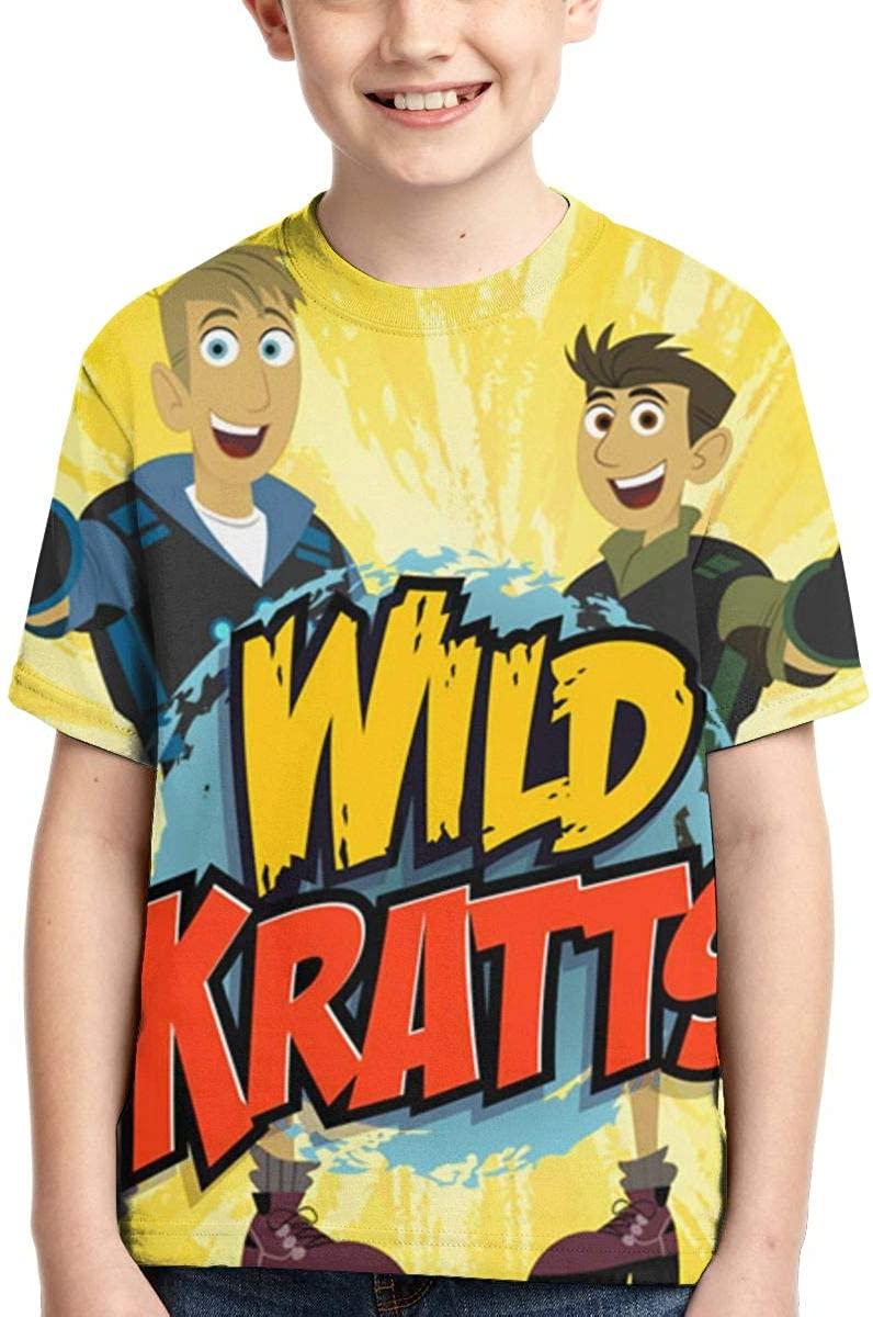 AP.Room Wild Kratts Boy T-Shirt Handsome Fashion