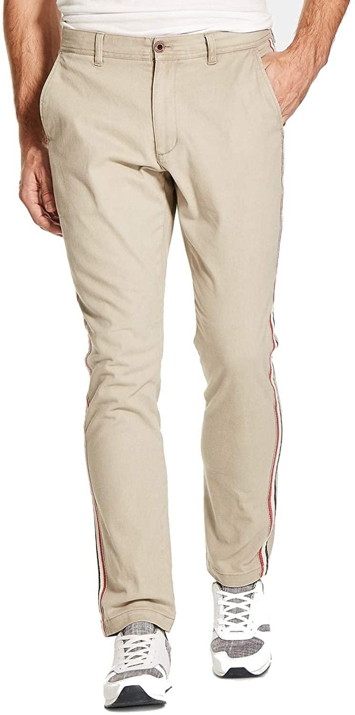 Weatherproof Vintage Mens Weatherproof Striped Khaki Pants