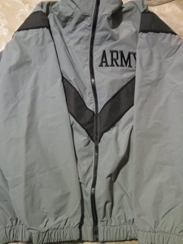 ARMY PT Jacket Large Regular IPFU Improved Physical Fitness Uniform