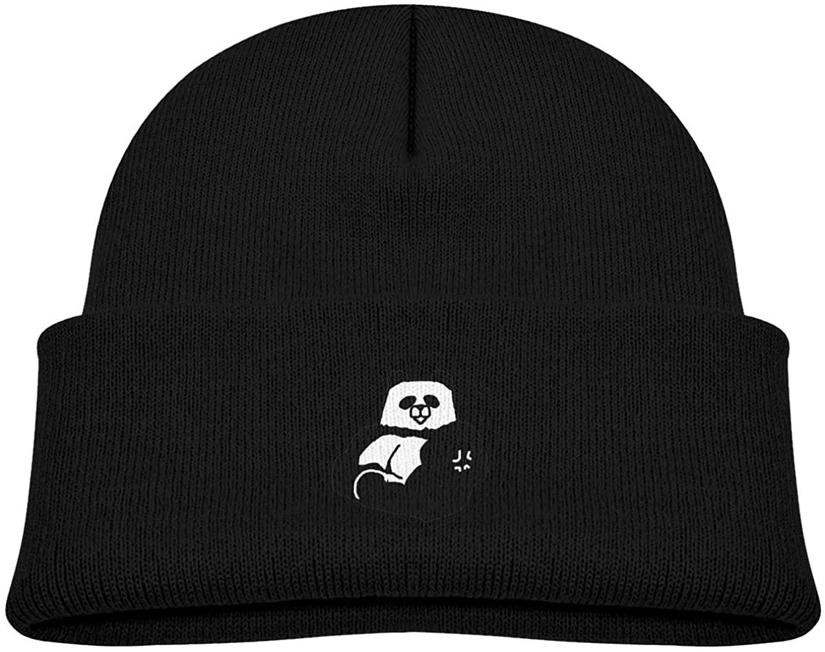 ZWZ Strong Panda Toddler's Hats Winter Knit Beanie Cap Skull Cap