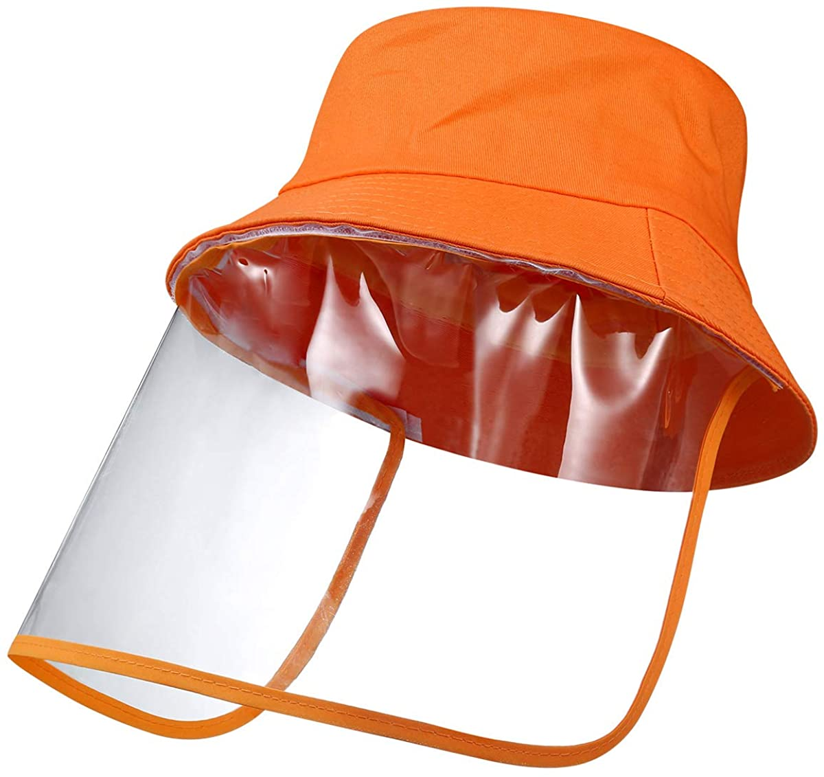 AMIR (2020 Upgraded) Kids Bucket Hat, Sun Hat, Fisherman Hat with TPU Detachable Film for School Cycling Travel Camping