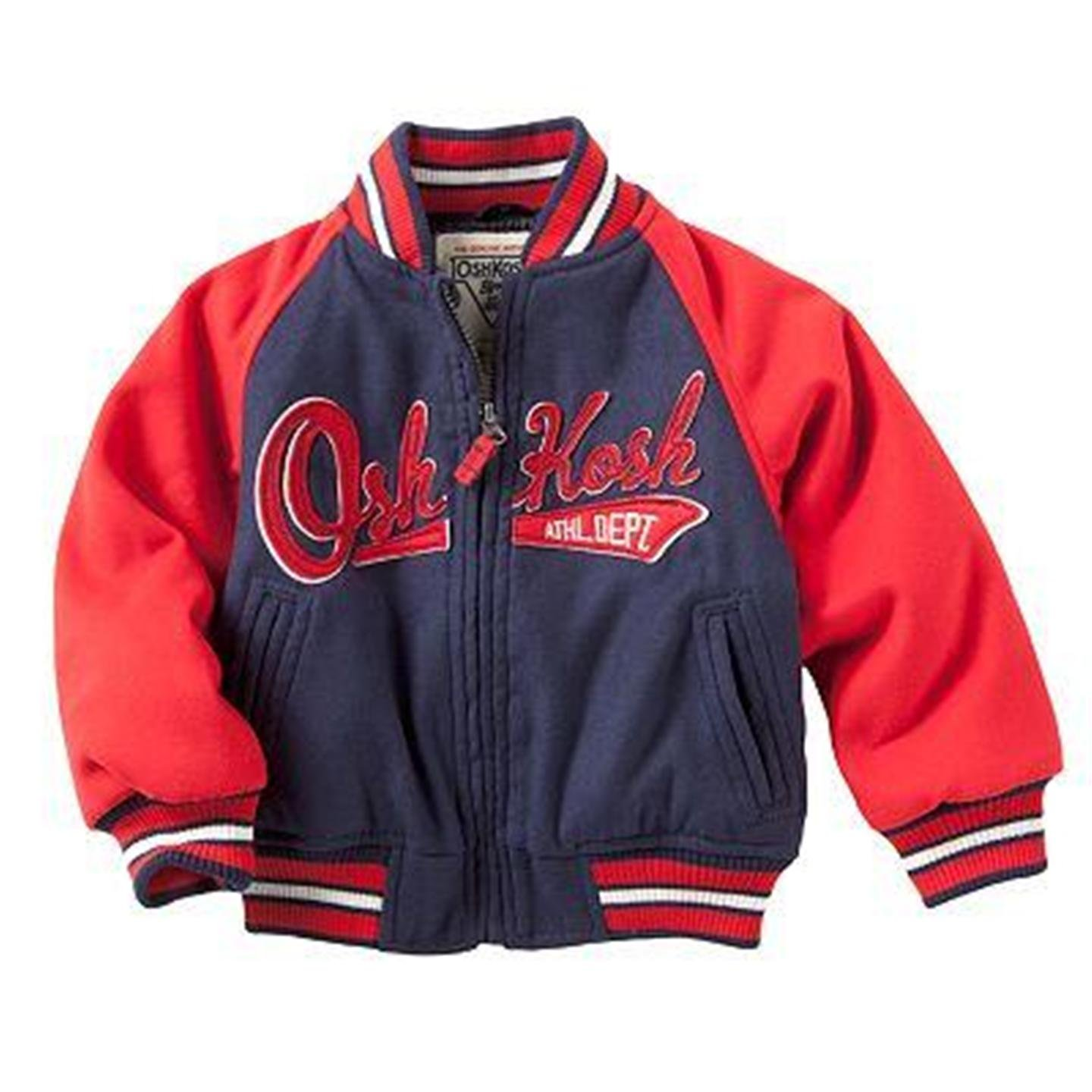 OshKosh B'Gosh Baseball Jacket - Toddler Little Boys (3T)