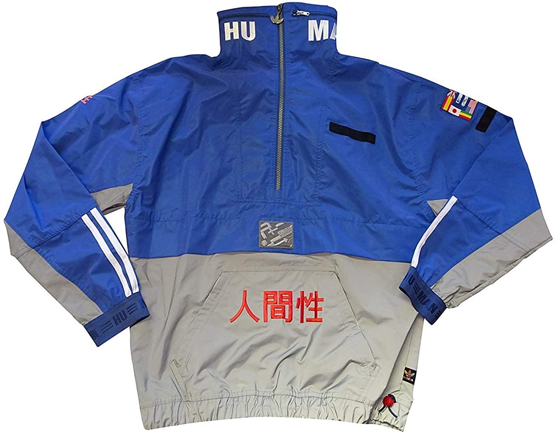 adidas X Pharrell Williams Human Race Half Zip Wind Breaker Jacket