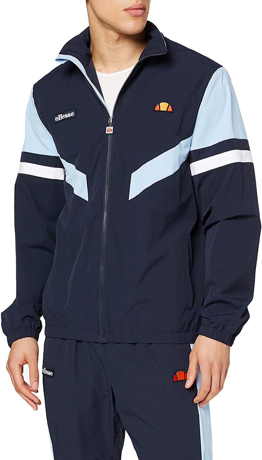 ellesse Men's Oscuro Track Jacket, Blue