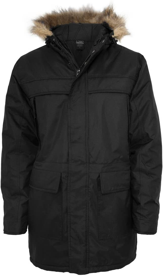 Urban Classics Mens Winter Jacket Black X-Large Black