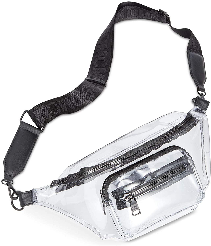 Steve Madden Blink Belt Bag Clear/Black