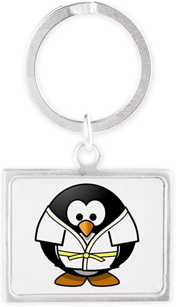 Landscape Keychain Little Round Penguin - Martial Arts Karate Judo