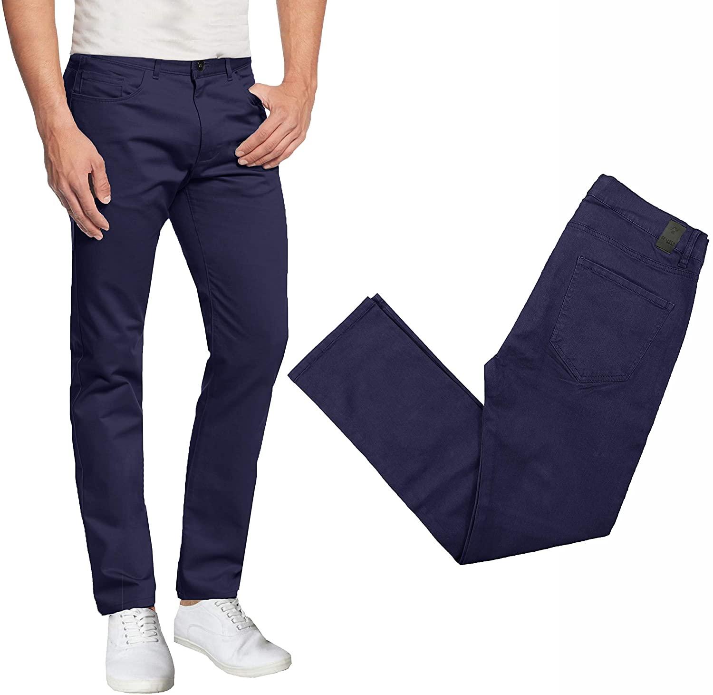 Men's 5-Pocket Ultra-Stretch Skinny Fit Chino Pants