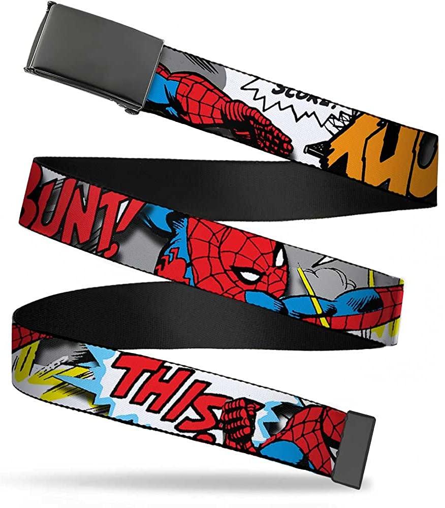 Buckle-Down Web Belt Spider-Man 1.25