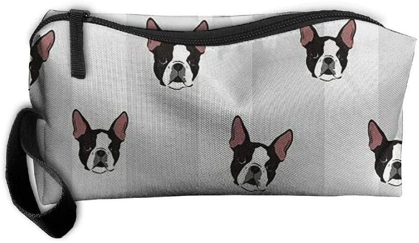YUNSHANGR French Bulldog Art Digital Portable Waterproof Thick Organizer Storage Bag,Travelling Bag,College Carrying Bag,Camping Bag for Christmas,Festival Decorations,Washable