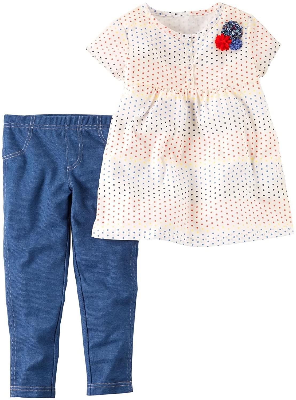 Carter's Girls' 2 Pc Playwear Sets 259g339