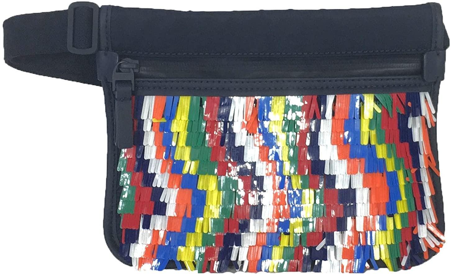 Tory Burch Sport Women's Sequin Belt Bag, Splash