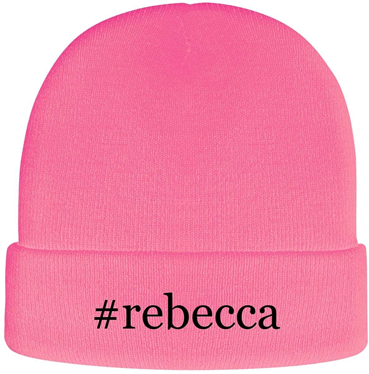 One Legging it Around #Rebecca - Soft Hashtag Adult Beanie Cap