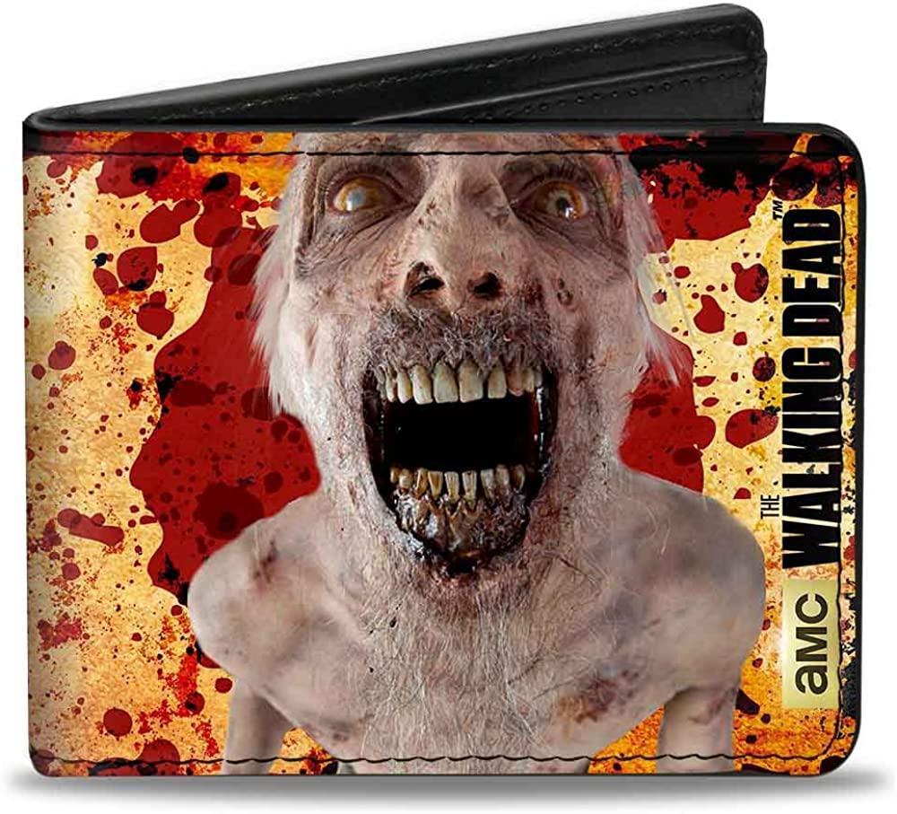 Buckle Down The Walking Dead Zombie Mens Wallet