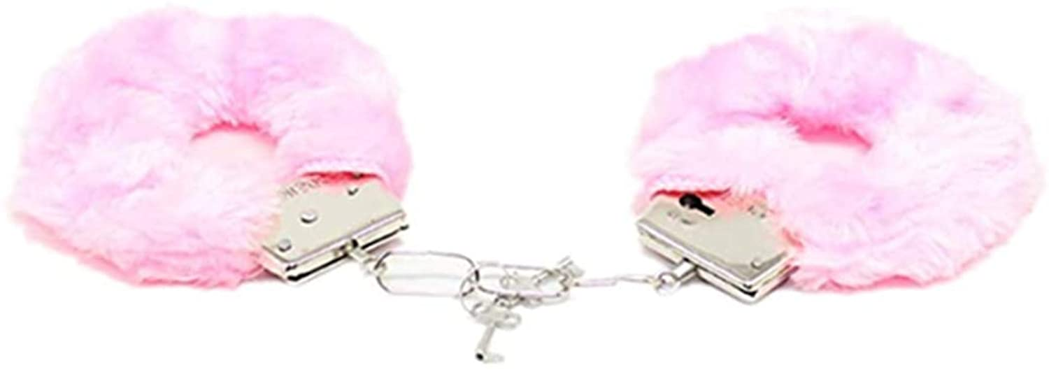 Wsibwinde Fetish Plush Foot Handcuffs Toy Stage Props