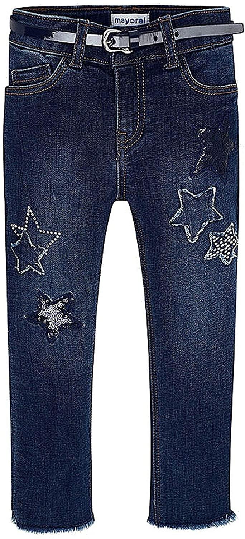 Mayoral - Denim Long Trousers for Girls - 3542, Super Dark