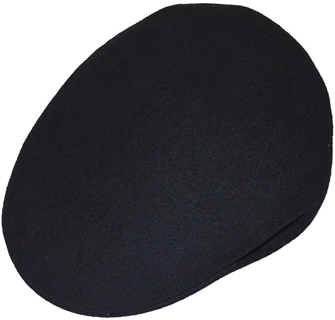 Scala Men's 100% Felt Wool Ivy Crushable Water Repellent Cap 2xlarge Black