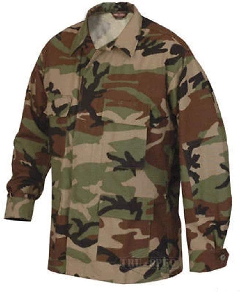 Military Uniform Supply Men's BDU Jacket - Woodland Camo
