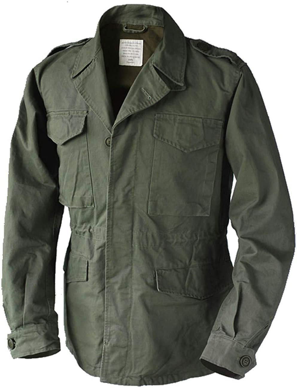 Army Field Jacket Vintage Men's Military Uniform Trench
