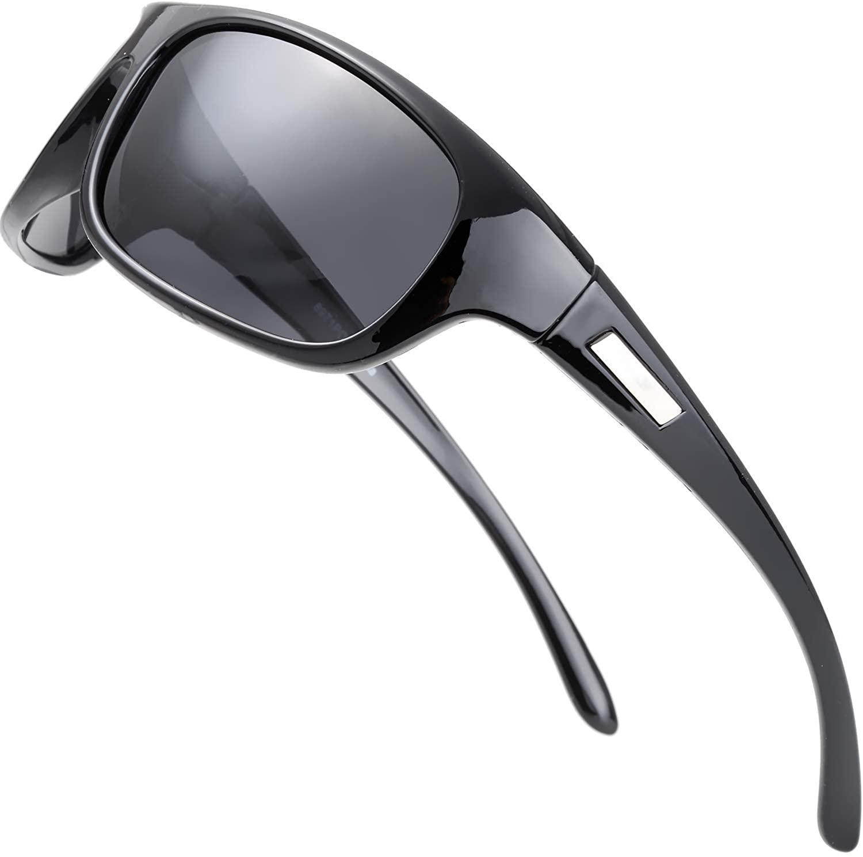 Polarized Sports Sunglasses for Men Women Baseball Running Cycling Fishing Driving Golf Softball Hiking Sun Glasses