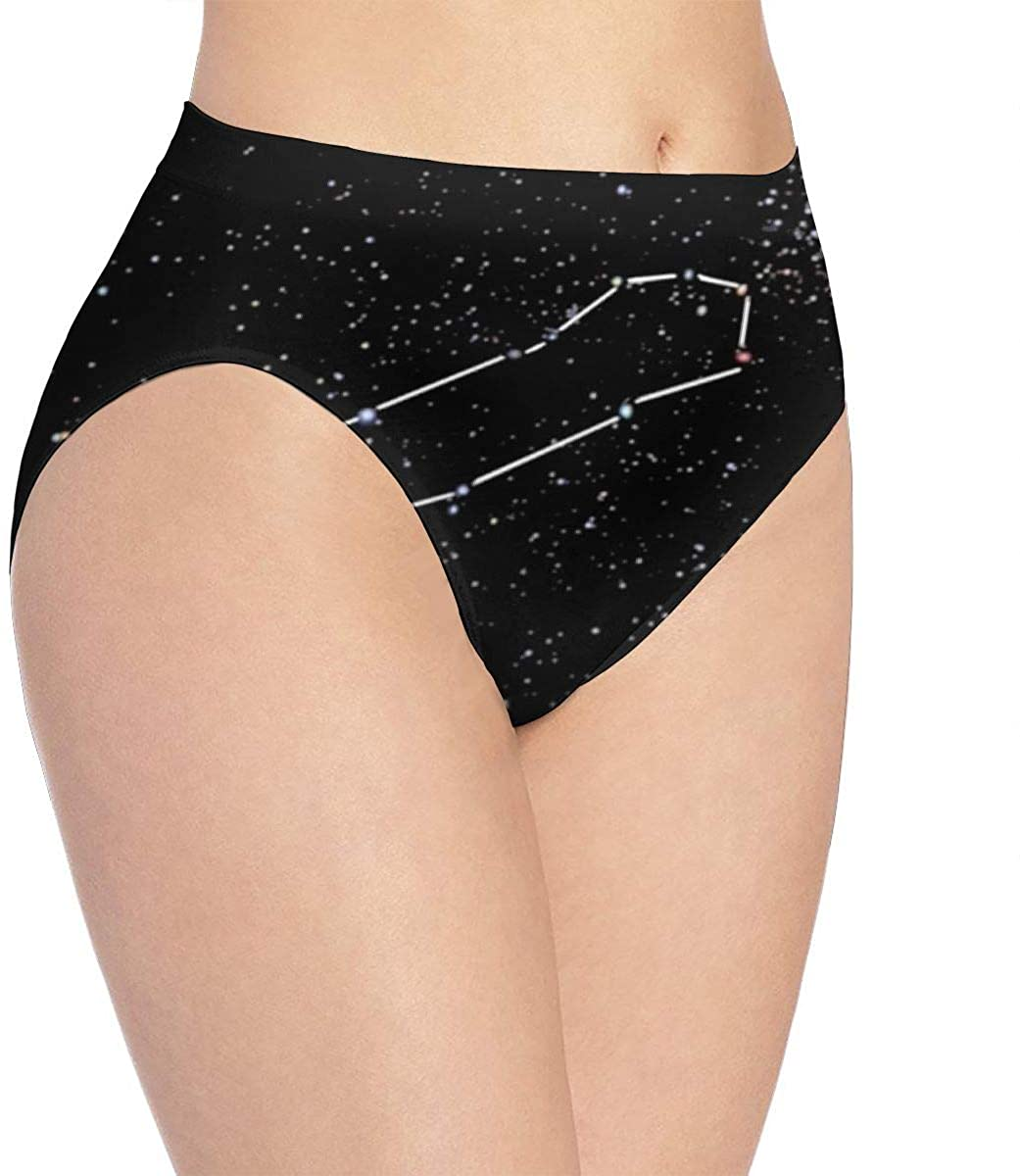 FTHX Penis Constellation Womens Underwear Panties Sexy Briefs Underpants Knickers
