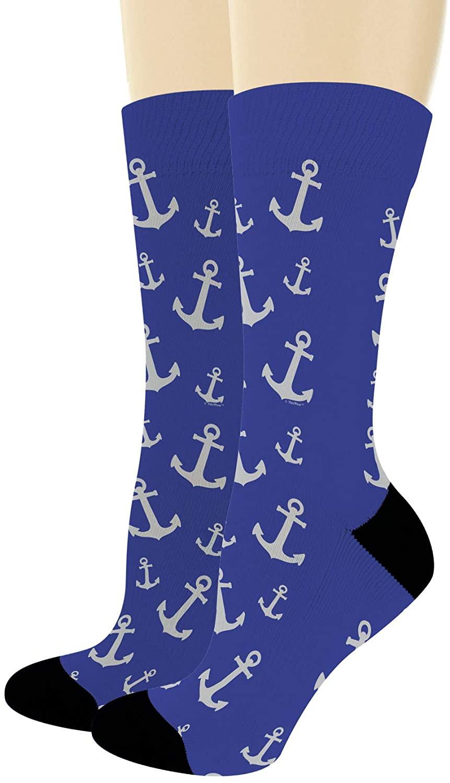 Boating Gifts Nautical Anchor Socks Cruise Gifts Nautical Socks Sailing Gifts Novelty Crew Socks