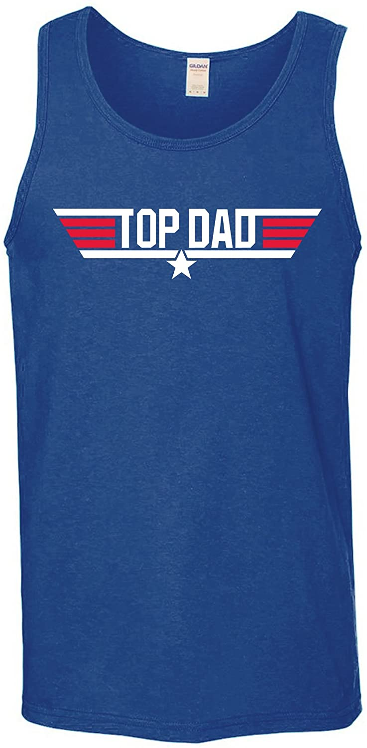 Top Dad - Air Force Military Fathers Day Tank Top
