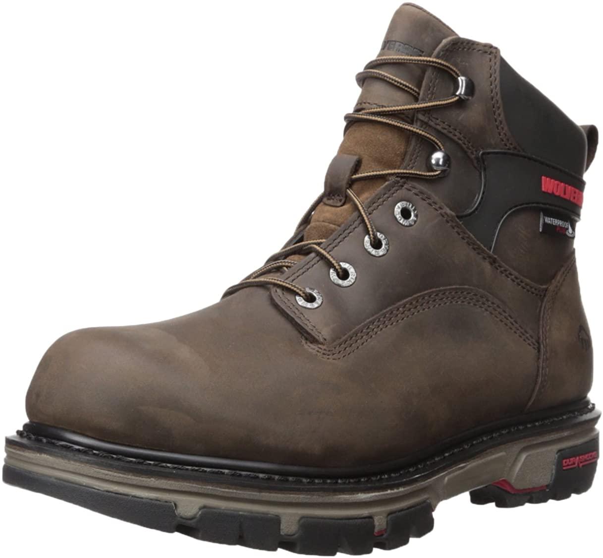 Wolverine Men's Nation 6 Inch Waterproof Soft Toe Work Shoe