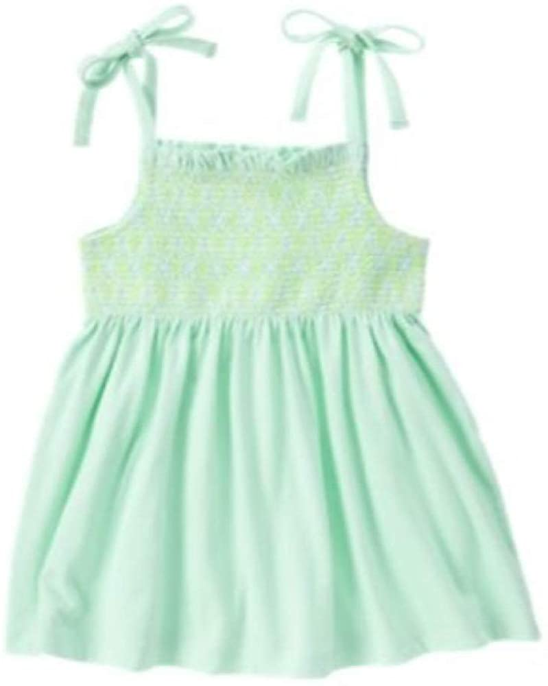 Gymboree Girls' Big Elastic Body Swing Top Mint Green