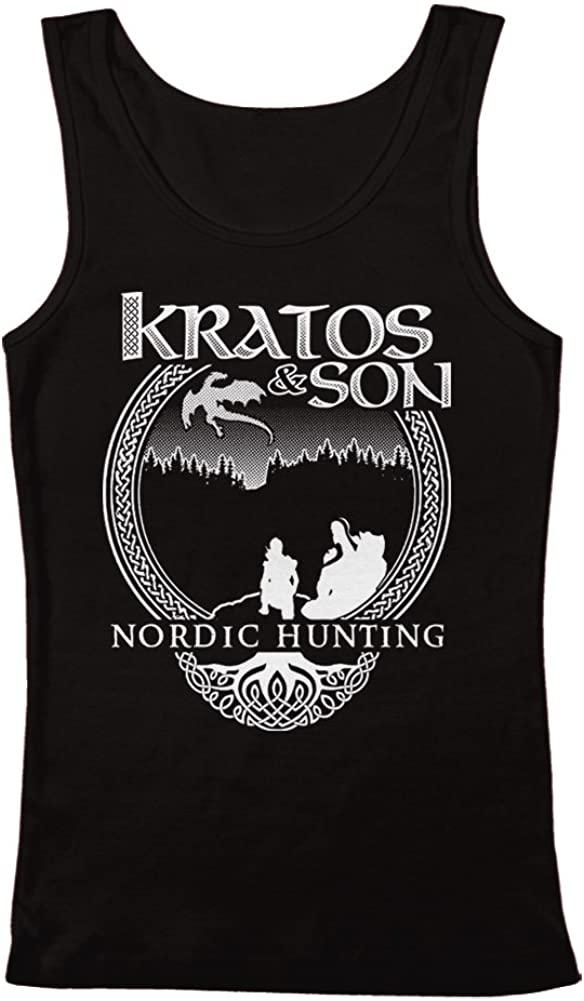 GEEK TEEZ Kratos & Son Nordic Hunters Men's Tank Top