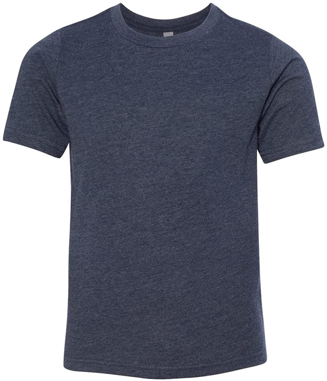 Next Level Big Boy's Crewneck Shrinkage Gorgeous T-Shirt_X-Large_Midnight Navy